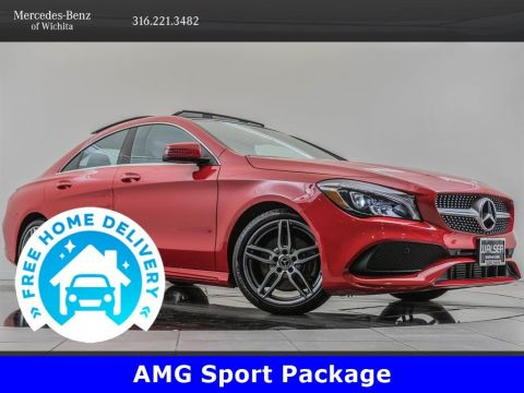 Pre-Owned 2019 Mercedes-Benz CLA CLA 250 4MATIC, AMG® Sport, Premium Package