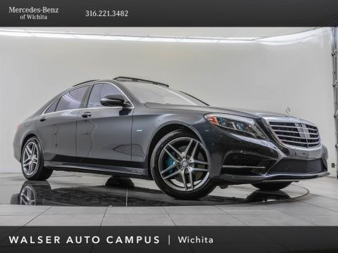 Pre-Owned 2017 Mercedes-Benz S-Class S 550e Plug-In Hybrid, Navigation, Premium 1