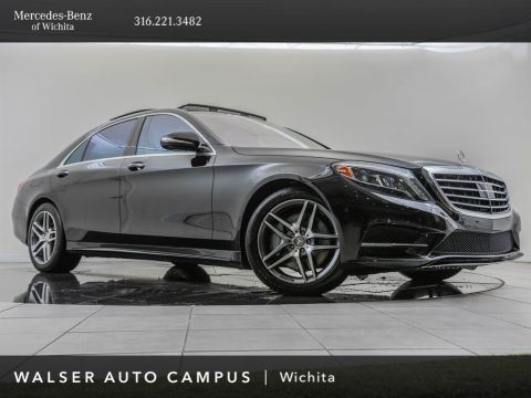 Pre-Owned 2014 Mercedes-Benz S-Class Navigation, AMG® Sport, Premium 1 Package