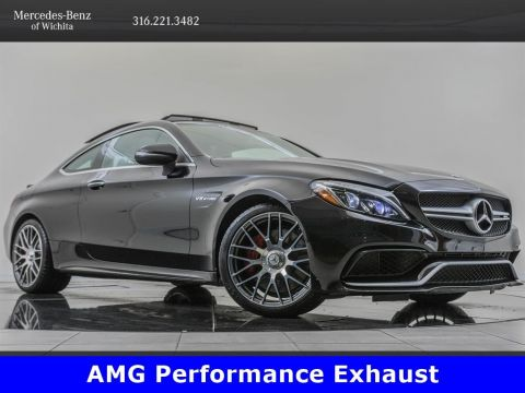 Pre-Owned 2018 Mercedes-Benz C-Class AMG® C 63, Advanced Lighting Package