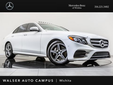 Pre-Owned 2017 Mercedes-Benz E-Class E 300 Luxury 4MATIC Navigation, Sunroof, RV Camera