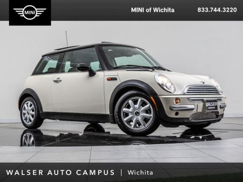 Pre-Owned 2003 MINI Cooper Hardtop Premium Package, Moonroof, STEPTRONIC