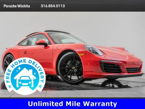 Pre-Owned 2017 Porsche 911 Factory Wheel Upgrade, Premium & Sport Chrono