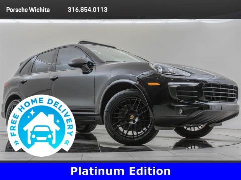 Pre-Owned 2017 Porsche Cayenne Platinum Edition Platinum Edition