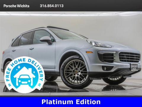 Pre-Owned 2017 Porsche Cayenne Platinum Edition Premium Package