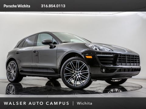 Certified Pre-Owned 2018 Porsche Macan 911 Turbo Whls, Pano Rf, PDLS, BOSE, BT, Htd Sts