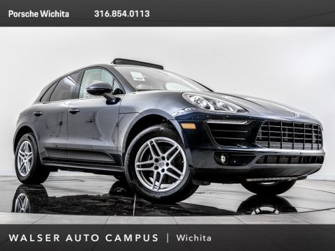 Certified Pre-Owned 2017 Porsche Macan Porsche Approved Certified, Panoramic Roof