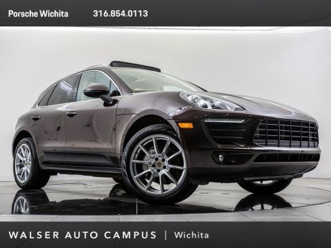 Pre-Owned 2017 Porsche Macan S, BOSE, PDLS, Lane Departure Warning