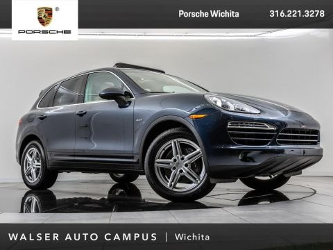 Pre-Owned 2014 Porsche Cayenne Diesel, Navigation, Panoramic Moonroof