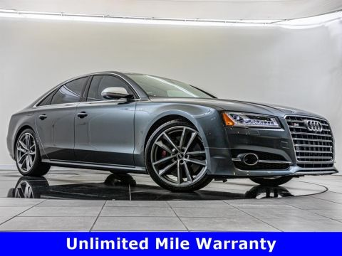 Pre-Owned 2017 Audi S8 plus