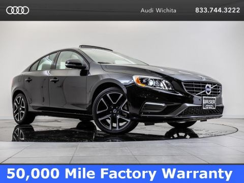 Pre-Owned 2018 Volvo S60 T5 Dynamic Navigation, Moonroof, Backup Camera